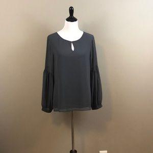 Express Gray blouse, size L, BNWT
